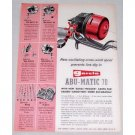 1960 Garcia Abu Matic 70 Casting Reel Color Print Ad