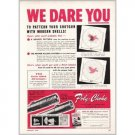 1952 Poly Choke Rifle Scopes Color Print Ad - We Dare You
