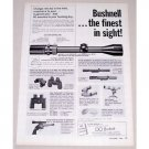 1966 Bushnell Scopechief II Rifle Scope Vintage Print Ad - The Finest