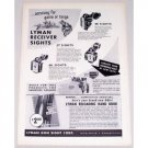 1957 Lyman Receiver Sights Vintage Print Ad - Accuracy For Game