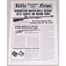 1961 Remington Rifle News Model 40X Rangemaster Vintage Print Ad
