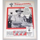 1956 Viceroy Cigarettes Hodges Hill Peanut Farm Vintage Print Ad
