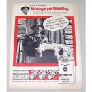1956 Viceroy Cigarettes Vintage Tobacco Print Ad HC Miller Cotton Grower
