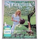 1971 Salem Cigarettes Color Tobacco Print Ad - Springtime