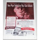1945 Revelation Bond Street Pipe Tobacco Color Print Ad