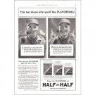1938 Half and Half Pipe Tobacco Vintage Print Ad - The Telescope Tin
