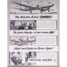 1948 American Airlines Convair Vintage Print Ad - Finest and Fastest