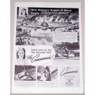 1945 Curtis Wright Commando Airlines Wartime Vintage Print Ad
