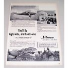 1946 Stinson Voyager 150 Plane Vintage Print Ad - You'll Fly High Wide