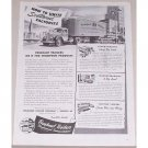1945 Fruehauf Trailers Truck Trailers Vintage Print Ad - How To Unite