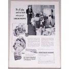 1953 Union Pacific Railroad Train Vintage Print Ad - It's All Play