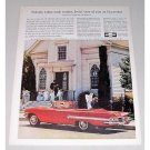 1960 Chevrolet Impala Convertible Automobile Color Print Car Ad