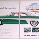 1955 DeSoto De Soto Fireflite Sportsman Automobile Color Print Car Ad