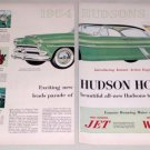1953 Color Print Car Ad for 1954 Hudson Hornet Hollywood Automobile