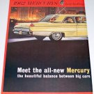 1961 Color 2 Page Car Ad for 1962 Mercury Meteor Automobile