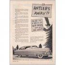 1950 Nash Airflyte Ed Zern Art Series #21 Automobile Vintage Print Car Ad