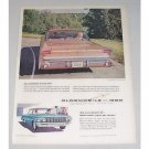 1960 Oldsmobile Super 88 Holiday Scenicoupe Automobile Color Print Car Ad