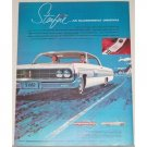 1962 Oldsmobile Starfire 2 Door Automobile Color Print Car Ad