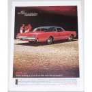 1966 Oldsmobile Cutlass Sports Coupe Auto Car Color Ad