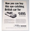 1949 Hillman Minx 4 Door Sedan Automobile Vintage Print Car Ad