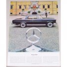 1962 Mercedes Benz 200 SE Coupe Automobile Color Print Car Ad