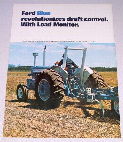 1973 FORD Farm Tractors Vintage 2 Page Color Print Ad