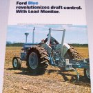 1973 FORD Farm Tractors Vintage 2 Page Color Print Ad
