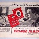 1966 Prince Albert Pipe Tobacco Sheep Sheering Print Ad