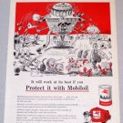 1956 Socony MOBIL OIL Company Ray Crosby Art Print Ad - Whatever They Dream Up Next
