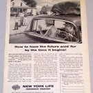1956 New York Life Insurance Company Print Ad