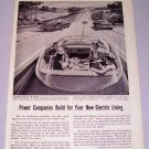 1957 America's Electric Light Power Company Print Ad - Electricity May Be The Driver