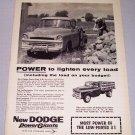 1957 DODGE Pickup Truck Print Ad
