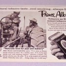 1957 PRINCE ALBERT Pipe Tobacco Print Ad Eldon Wesson Arnold Kirby