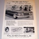 1959 Car Print Ad Oldsmobile Dynamic 88 Automobile