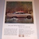 1959 Color Car Print Ad Chevrolet Bel Air 2 Door Sedan Automobile