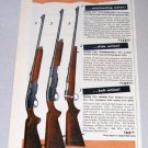 1956 Color Print Gun Ad Remington Big Game Rifles