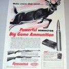 1958 Print Ad Kleanbore 280 Remington Hi-Speed Shell Cartridge Deer Animal Art