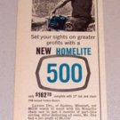 1961 Print Ad Homelite Chain Saw Lawson Dry Squires Missouri