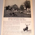 1961 Print Ad The Hartford Insurance Group Full Farm Coverage