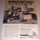 1966 Print Ad Case 1030 Comfort King Farm Tractor