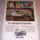 1966 Color Print Ad International Pickup Truck