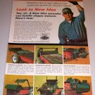 1966 Color Print Ad New Idea Manure Spreader Farm Implement