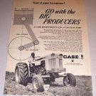 1966 Print Ad Case 530 Farm Tractor