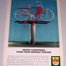 1964 Color Print Ad SH Green Stamps Murray Bicycle