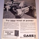 1964 Print Ad Case 430 Diesel and 1200 Farm Tractors