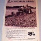 1965 Print Ad David Brown Farm Tractor