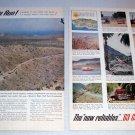 1963 Chevrolet Trucks Mexico Baja Peninsula 2 Page Color Print Ad - The Baja Run