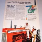1962 Allis Chalmers D19 Diesel Farm Tractor Color Print Ad