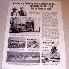 1953 Print Ad Champion Spark Plugs David John Tate Boise Idaho