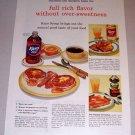 1954 Karo Syrup Color Print Ad